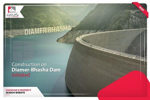 Construction on Diamer-Bhasha Dam initiated