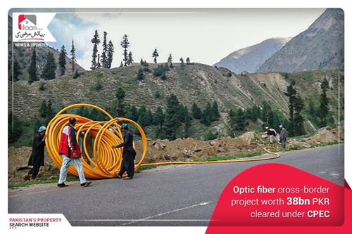 Optic Fiber Cross-Border Project Worth Rs. 38bn Cleared Under CPEC