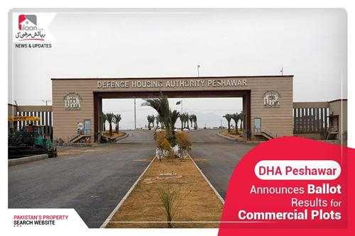 DHA Peshawar announces ballot results for commercial plots