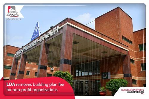 LDA removes building plan fee for non-profit organizations