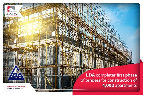 LDA completes first phase of tenders for construction of 4,000 apartments