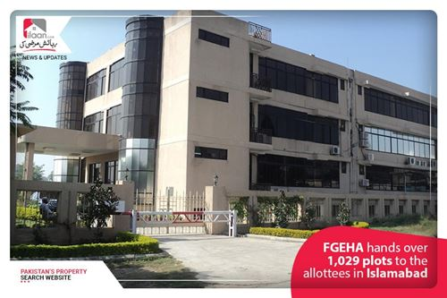 FGEHA hands over 1,029 plots to the allottees in Islamabad