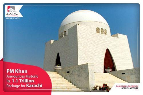 PM Khan announces historic Rs. 1.1 trillion package for Karachi