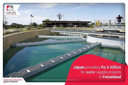 Japan Providing Rs. 6 billion for Water Supply Projects in Faisalabad
