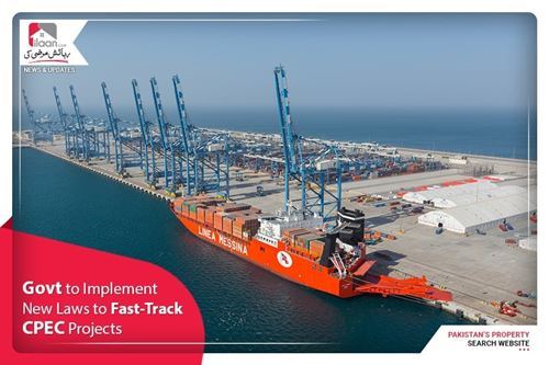 Govt to implement new laws to fast-track CPEC projects
