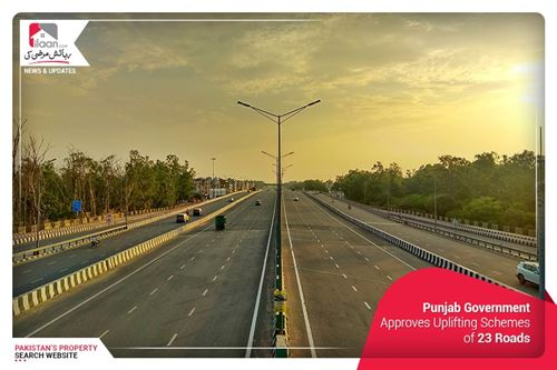 Punjab Government Approves Uplifting Schemes of 23 Roads