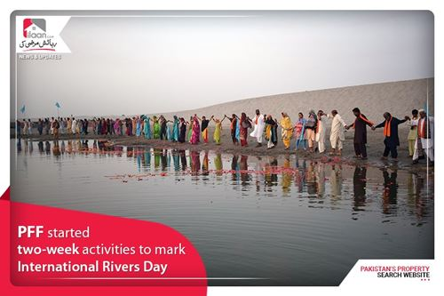 PFF started two-week activities to mark International Rivers Day