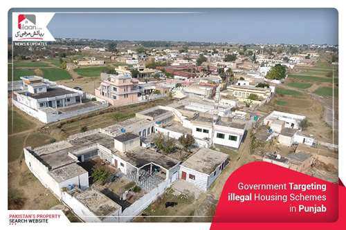 Government Targeting illegal Housing Schemes in Punjab