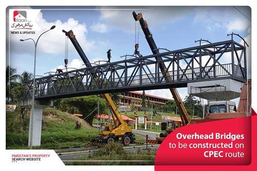 Overhead Bridges Construction on CPEC Route