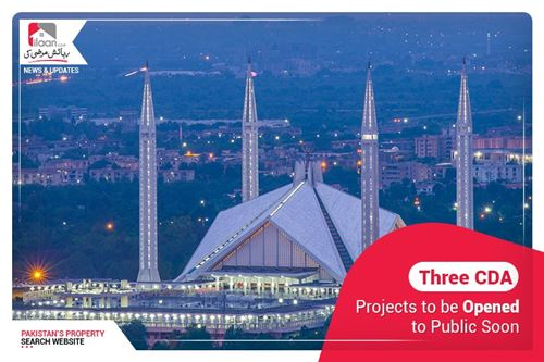 Three CDA projects to be opened to public soon
