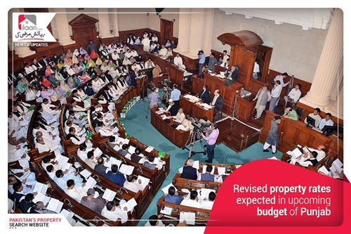 Revised property rates expected in upcoming budget of Punjab