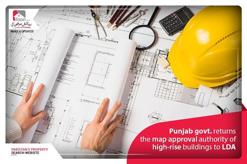 Punjab govt. returns the map approval authority of high-rise buildings to LDA