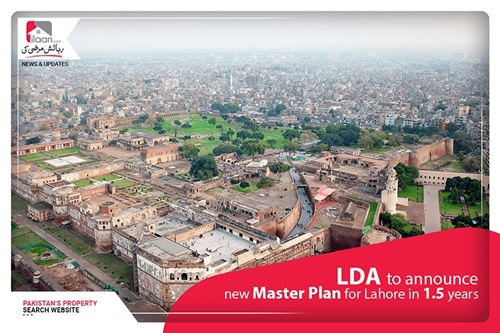 LDA to announce new master plan for Lahore in 1.5 year