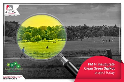 PM to inaugurate Clean Green Sialkot project today