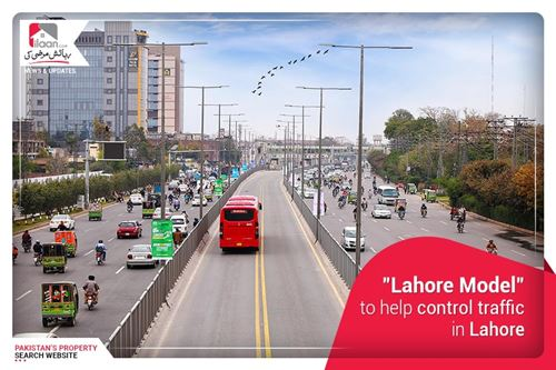 """""""Lahore Model"""" to help controlling traffic in Lahore"""