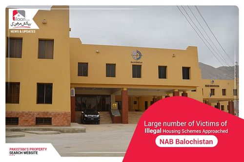 Large number of victims of illegal housing schemes approached NAB Balochistan
