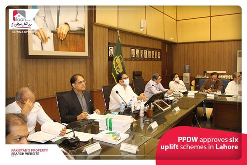 PPDW approves six uplift schemes in Lahore