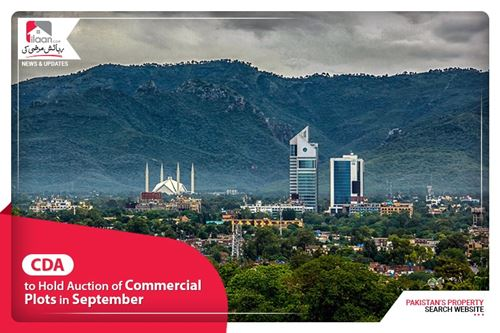 CDA to hold auction of commercial plots in September