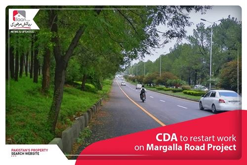 CDA to Restart Work on Margalla Road Project