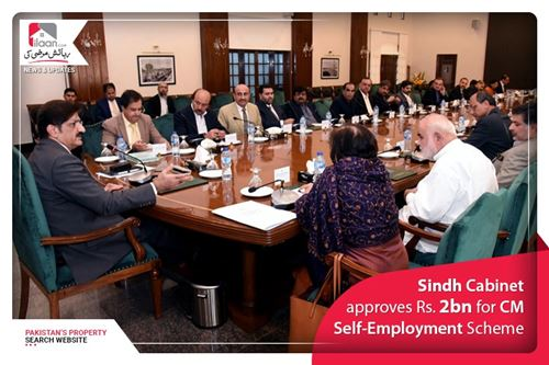 Sindh Cabinet approves Rs. 2bn for CM Self-Employment Scheme