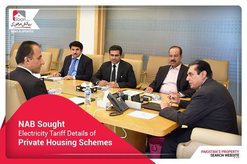 NAB sought electricity tariff details of private housing schemes