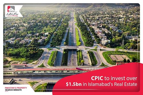CPIC to Invest over 1.5 B$ in Islamabad's Real Estate