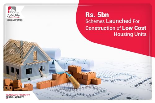 Rs. 5bn schemes launched for construction of low-cost housing units