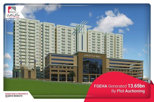 FGEHA Generated 13.65bn By Plot Auctioning