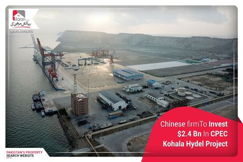 Chinese firmTo Invest $2.4 Bn In CPEC Kohala Hydel Project