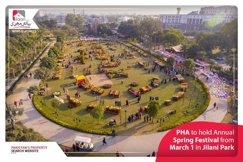PHA to hold Annual Spring Festival from March 1 in Jilani Park