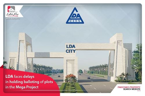LDA faces delays in holding balloting of plots in the Mega Project