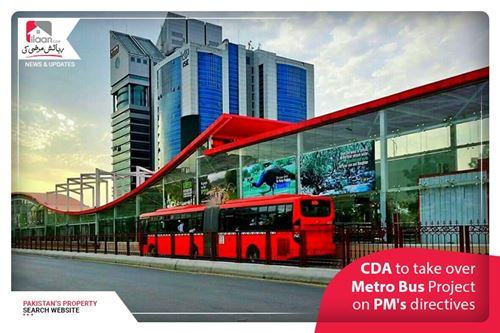CDA to take over Metro Bus Project on PM's directives