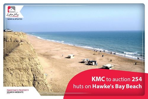 KMC to auction 254 huts on Hawke's Bay Beach