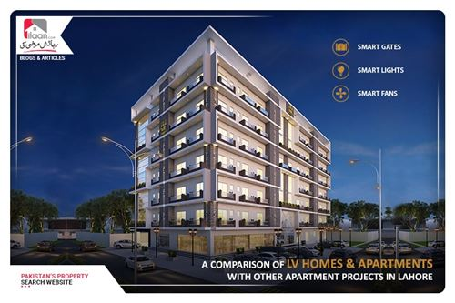 A Comparison of LV Homes & Apartments with Other Apartment Projects in Lahore