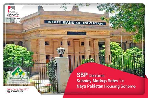 SBP Declares Subsidy Markup Rates for Naya Pakistan Housing Scheme