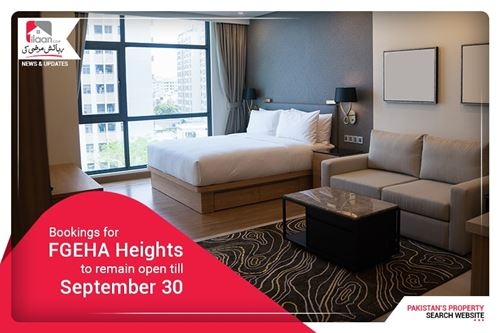 Bookings for FGEHA Heights to remain open till September 30