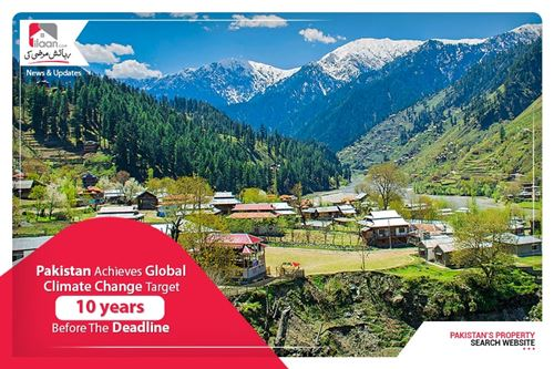 Pakistan achieves global climate change target 10 years before the deadline