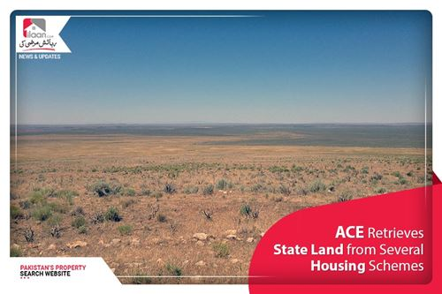 ACE retrieves state land from several housing schemes
