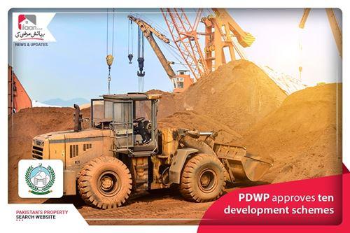 PDWP approves ten development schemes
