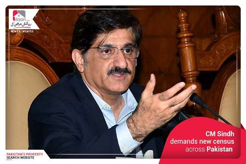 CM Sindh demands new census across Pakistan