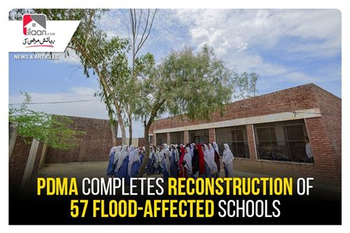 PDMA completes reconstruction of 57 flood-affected schools