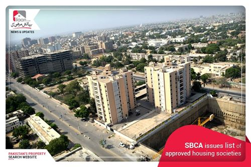 SBCA issues list of approved housing societies