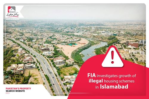 FIA investigates growth of illegal housing schemes in Islamabad