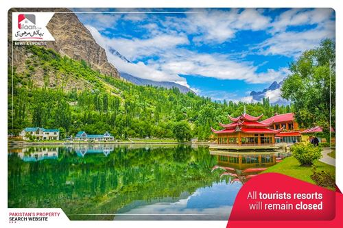All tourists resorts will remain closed on Eid