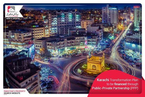 Karachi Transformation Plan to be financed through public-private partnership