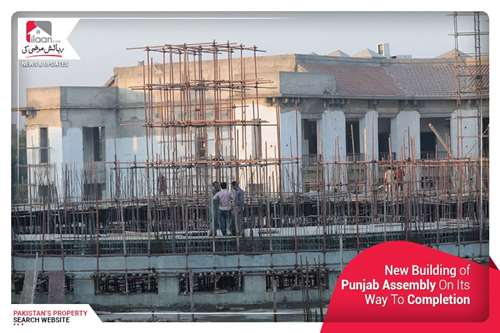 New Building of Punjab Assembly on Its Way to Completion