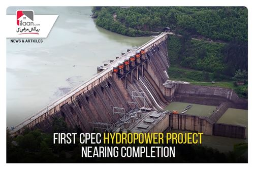 First CPEC hydropower project nearing completion