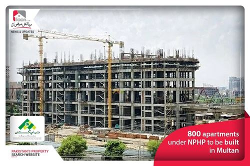 800 apartments under NPHP to be built in Multan