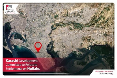 Karachi development committee to relocate settlements on nullahs