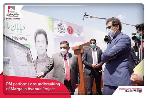 PM performs groundbreaking of Margalla Avenue Project